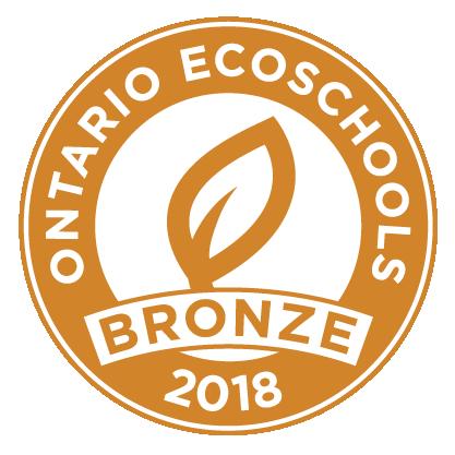 EcoSchool Certified bronze