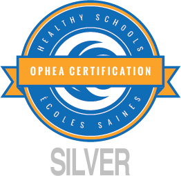 OPHEA Healthy Schools Certified silver