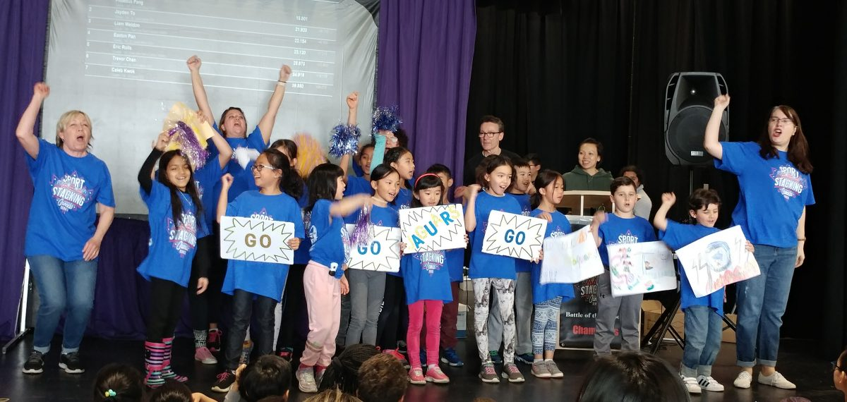 Speed Stacking Team Represented St. John XXIII CES Well!