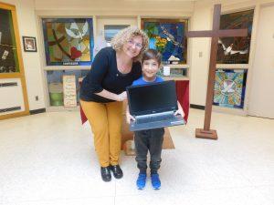 Winner of the Chromebook