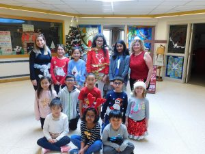 Shiny Sparkly Shimmery Day at St. John XXIII CES was today….tomorrow is….
